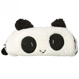 $enCountryForm.capitalKeyWord UK - Cute Soft Panda Pencil Pen Case Storage Bag Cosmetic Makeup Bag Pouch Wallet