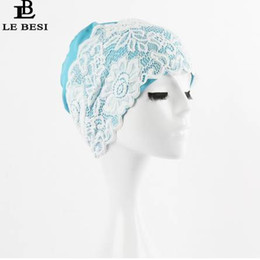 Beautiful girl hats online shopping - Beautiful Lace Beach Quick Dry Swimming Cap For Women Girls Flower Elastic Hollow Out Bathing Hat Swimming Pool
