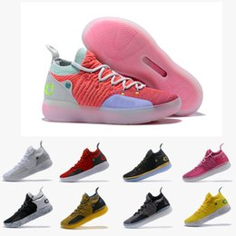 Discount kd elite shoes size men - 2018 KD 11 EP Elite Basketball Shoes KD 11s Men Multicolor Peach Jam Mens Trainers Kevin Durant All-Star BHM Sneakers Si