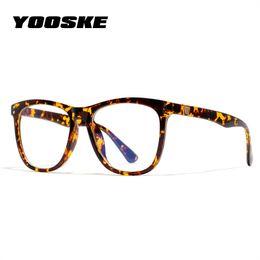 75c2f0a959583 YOOSKE Óculos Anti-Blu-ray Do Vintage Quadro Mulheres Óculos de Leitura  Óculos de Prova de Luz Azul Computador Transparente Eyewear Óptico