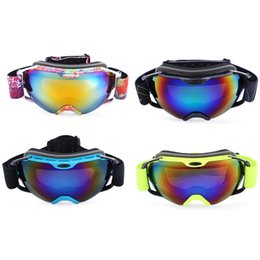 $enCountryForm.capitalKeyWord Australia - Unisex Adult Windproof Spherical Anti-fog Dual Lens Snowboarding Skiing Goggles Eyewear super soft, with easy to fit myopia glasses design