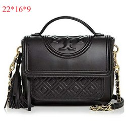 Leather handbags designers brand online shopping - Europe and America Tory brand women bags handbag Famous designer handbags Ladies handbags Fashion wallet Outdoor boutique bag