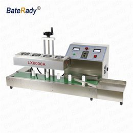 Steel Induction Canada - LX6000A Desktop stainless steel Continuous Induction Sealer,Electromagnetic induction sealing machine,suit for 20-75mm diameter,220V