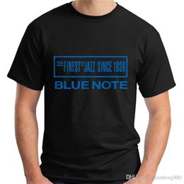 $enCountryForm.capitalKeyWord Australia - New Design T Shirt Print Men'S 100% Cotton Crew Neck Short-Sleeve Blue Note Tee