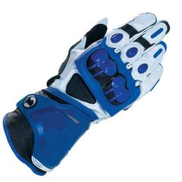 gloves motorcycle motorbike 2019 - 4 Colors GP PRO Motorcycle Long Gloves MotoGP M1 Racing Team Driving Gloves Genuine Leather Motorbike Cowhide cheap glov