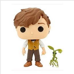 Cheap Mini Toys NZ - Cheap price Anime Toys For Children FUNKO POP Newt Tree protection Pot Action Figure Collection Toy Toys For Kids gift factory price
