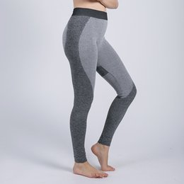 tight blue yoga pants NZ - Yoga Pants Women High Waist Elastic Trousers Hip Stretch Sport Fitness Leggings Push Up Pants Workout Legins Yoga Sports Tights