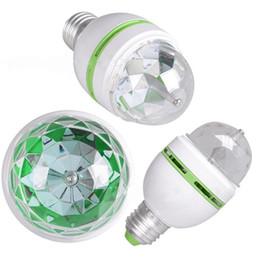 $enCountryForm.capitalKeyWord UK - H086 Fashion LED Lamp E27 Moving Head Stage Lighting Laser Crystal Auto Rotating RGB Par DJ Controller disco ball party light