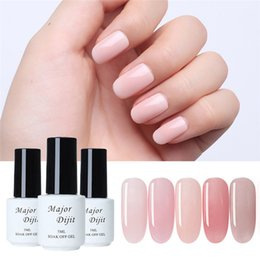 Uv Coating Liquid NZ - UV Gel Nail Polish No-wipe Coat Gel BASE Coat Polish Soak Off UV LED Liquid Latex Tape Cream Nail Art 2019 fashion