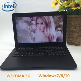 Discount ssd windows laptop - WECDMA 3G Free shipping 13.3 inch windows 7 8 10 laptop 4G 256GB SSD 1.99GHz In-tel J1900 Quad core PC notebook WIFI HDM