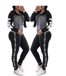Wholesale Fashion Print Women Hooded Tracksuits long sleeve Tops Long Pants Two Piece Set Hoodies Outfits Sportswear Sweatsuits New Arrival