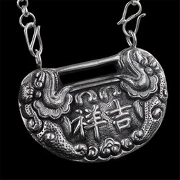 $enCountryForm.capitalKeyWord NZ - Fine 999 99 Pendant Necklace High Purity Sterling Silver Jewelry Handcrafted #103 Oriental Jewelry - Free Shipping