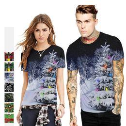 c4c19439b0a0 Christmas Plus Size T Shirt Canada - Christmas tree tshirts 3D Print Men Women  t-