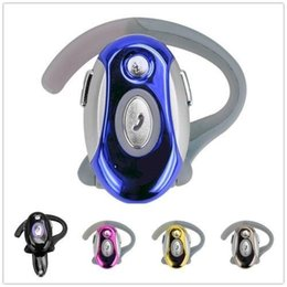 Wireless Headphones Mic Blue Australia - Collapsible Universal Business Headphones Handsfree Earphone Wireless Bluetooth Headset For Motorola CN E108