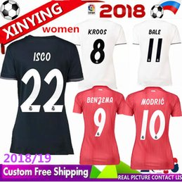 52c93b2133a Real Madrid Away Shirt Canada - 2018 new real madrid MARIANO women soccer jersey  18 19