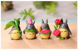 $enCountryForm.capitalKeyWord UK - 8pcs lot 3*4cm Lovely My Neighbor Totoro Miniature Figurines Toys Model Kids Toys PVC Japanese Cute Anime Children Action Figure Toys
