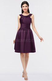 Modest A Line Short Bridesmaid Dresses Floor Length Maid Of The Honor Gowns Plus Size Wedding Guest Dress