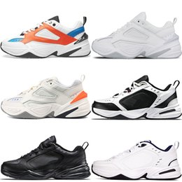 classic leather golf shoes NZ - Best Quality Monarch IV 4 M2K Tekno Mens Trainers Designer Fashion Old Dad Shoes Pink Foam Zapatillas Men Women Classic Sneakers 36-45