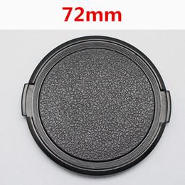 Dslr Camera Cap Australia - Wholesale 30pcs lot 72mm Camera Lens Cap Protection Cover Lens Front Cap for S C N 72mm DSLR free shipping