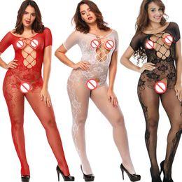 Lingerie Sexy Lingerie Grande Taille Lenceria Sexy Costumes Intime Femmes Bas de Corps Fantasias Sexy Érotique J1548