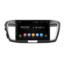 Korean Gps Australia - Car DVD player for Honda Accord Factory price 10.1inch Octa-core 2GB RAM Andriod 6.0 with GPS,Steering Wheel Control,Bluetooth,Radio
