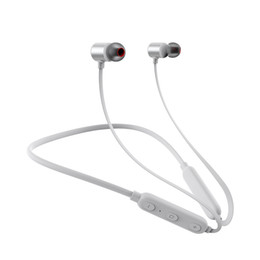neck phone bluetooth 2019 - New Wireless Bluetooth Headset Earphone Headphone Hall Magnetic Suction Hanging Neck In - Ear Motion Bluetooth Headset 4