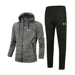 Best tracksuit man online shopping - 2019 New Luxury Designer Tracksuit Best Version Spring Autumn MensTracksuits Print Zipper Suit Tops Pants Mens Casual Sweatshirt Sport Suits