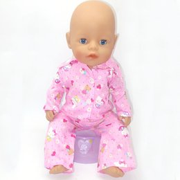 $enCountryForm.capitalKeyWord Australia - 43cm Zapf Baby Born Doll Clothes All kinds of style clothes children Christmas gift free shipping the doll m57