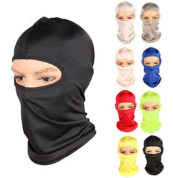 Wholesale Bicycle Cycling Face Masks Barakra Hat Cycling Caps Outdoor Sport Ski Mask CS windproof dust head Tactical Mask Motorcycle Armor GGA723