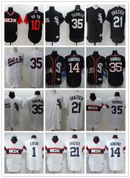 3fda5ee1 Men women youth White custom Sox Jerseys #1 Adam Eaton 35 Frank Thomas 14  Paul Konerko 21 Todd Frazier 10 YO YO Baseball Jerseys