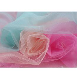 wedding dress net tulle 2019 - Soft tulle mesh fabric Width 150cm for wedding dress cloth Netting Mosquito net Solid color Soft pettiskirt veil ball go