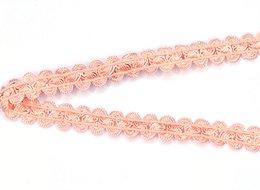 Nylon Knit Fabric NZ - (3000 metres lot) DIY Nylon webbing knitted orange elastic ingerice trim woven fabric for bra high quality straps 1.3cm width CS12063-13