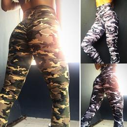 $enCountryForm.capitalKeyWord Australia - womens Printed camouflage yoga hip high waist leggings size S M L XL