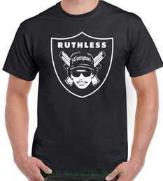Raider White Canada - Summer Style Hip Hop Men T-shirt Tops Eazy E Compton Raiders Mens T-shirt Nwa Oakland Ruthless Records Straight Outta