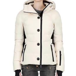 M808 CERCIS Ladies women down jacket winter ski coat brand Female Clothes  real thick coat collar hood womens down jacket skiwear 7ec278c41