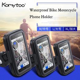 Водонепроницаемый велосипед мотоцикл держатель телефона крепление для Huawei Samsung iPhone LG смартфон GPS Универсальный мобильный телефон поддержка movil C18110801