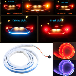 Led tail light strips nz buy new led tail light strips online from led tail light strips nz 1pc 120cm rgb led strip lighting rear trunk tail light aloadofball Gallery