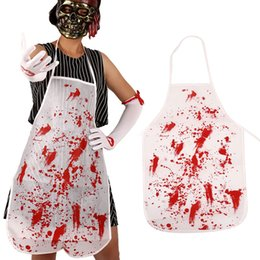 $enCountryForm.capitalKeyWord Australia - Halloween Costume Horrible Butcher Chef Bloody Apron Decor Props Fancy Dress