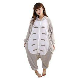 efbb038e63 Cosplay de Halloween Niños Unisex Mi Vecino Totoro Animal Kigurumi Onesie  Pijamas Disfraz