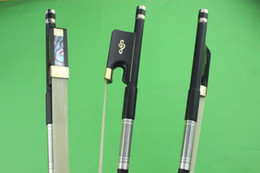 $enCountryForm.capitalKeyWord Australia - New high quality black 4 4 Carbon fiber cello bow Ebony Frog white horse hair