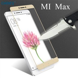 New Mi Phone Canada - For Xiaomi Mi MAX 2 Tempered Glass 6.44inch 100% New Premium Screen Protector Film For Xiaomi Mi MAX Cell Phone