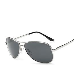 065af091d0a Sun glasses men polarized driving sunglasses metal Brand design oculos gafas  de sol hombre hd polarized mirror Shades