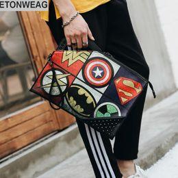 Leather maLe hand bag online shopping - Factory brand men bag fashion woven  handbag street tide e4f44e3856e7c