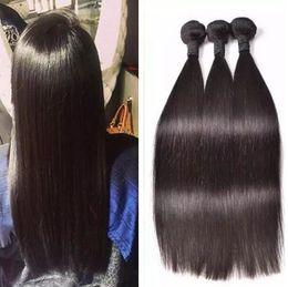sells hair weaves 2019 - straight human hair extensions cheap virgin hair bundles malaysian silky straight hair weave unprocessed hot selling che
