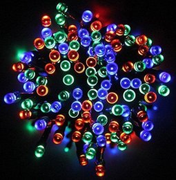 $enCountryForm.capitalKeyWord Australia - Solar Lamps LED String Lights 100 200 LEDS Outdoor Fairy Holiday Christmas Party Garlands Solar Lawn Garden Lights Waterproof
