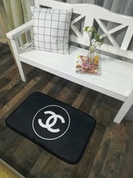 Kitchen Seating Australia - 2019 creative Small floor mats living room bedroom door mats 50 * 80cm kitchen Nordic thick non-slip seat cushion home child mat