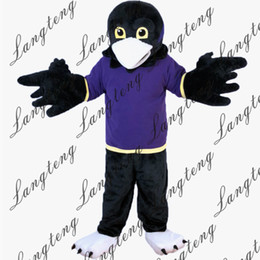 $enCountryForm.capitalKeyWord Australia - 2018 New high quality Purple Vest Sport Eagle Mascot costumes for adults circus christmas Halloween Outfit Fancy Dress Suit Free Shipping