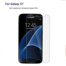 $enCountryForm.capitalKeyWord Australia - For Samsung Galaxy S2 Film Tempered Glass Screen Protector 9H 2.5D Anti-Shatter Coating for Samsung S6 S7 edge Galaxy Note III