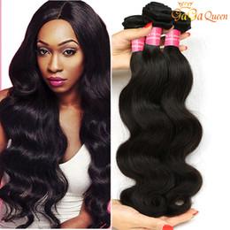 grade 7a hair weave 2019 - 7A Grade Brazilian Straight Hair Extensions Unprocessed Brazilian Body Wave Virgin Hair Cheap Brazilian Human Hair Weave