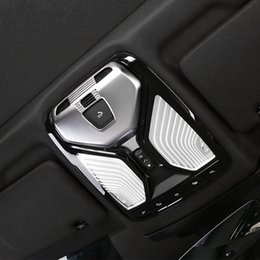 bmw chrome accessories 2019 - ABS Chrome Car Front Reading Light Lampshade Cover Trim for BMW 5 Series G30 2017 2018 Interior Accessories Styling disc